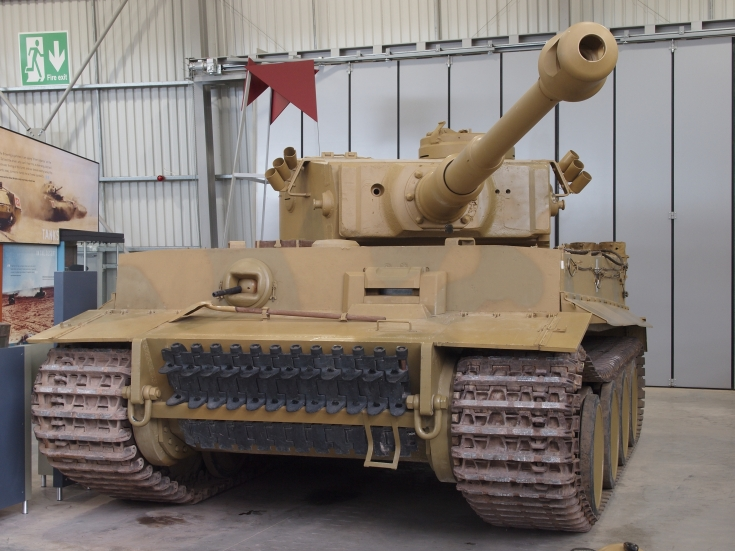 Tiger I at Tank Museum