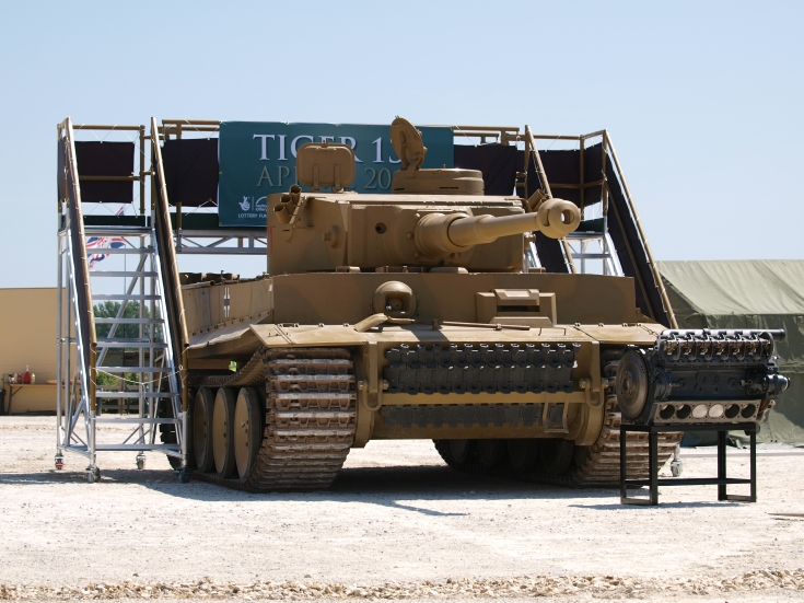 Tiger I at Bovington
