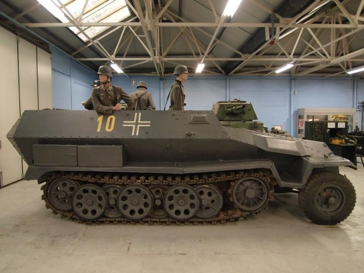 Hanomag SdKfz 251 half-track