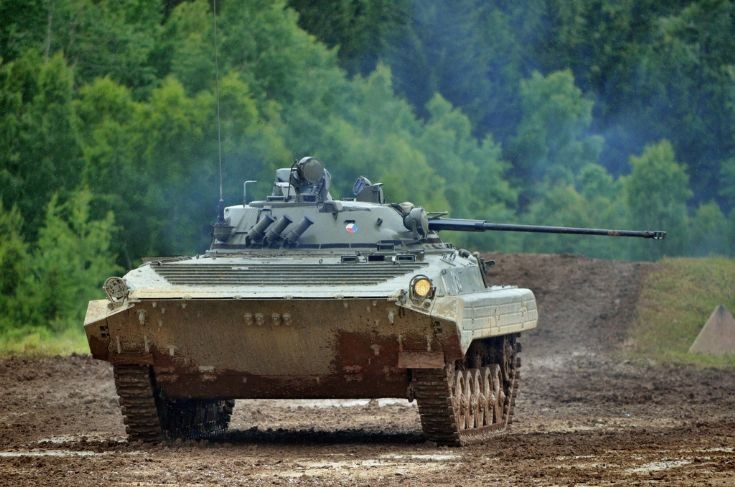 Photo of Czech Army´s BMP-2 IFV