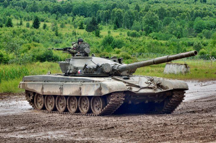 Czech Army´s T-72M1 tank