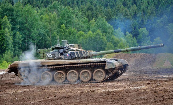 Czech Army´s T-72M4 CZ