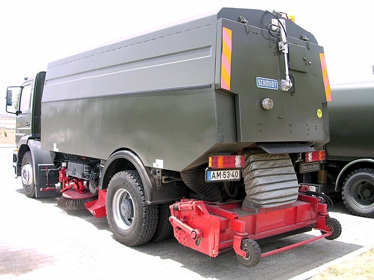 Mercedes Atego of Air Force