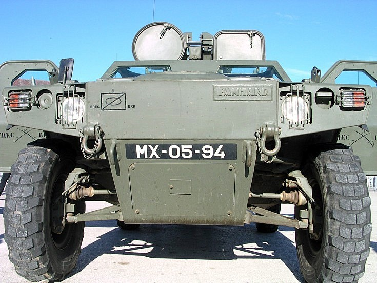 Photo of Portuguese Panhard VBL
