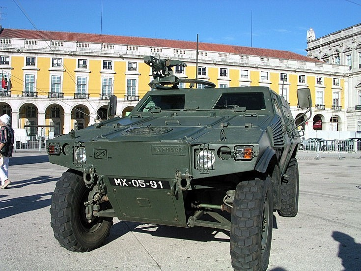 Picture of Portuguese Panhard VBL