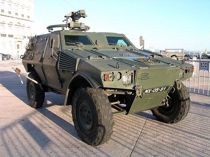 Portuguese Panhard VBL MX-05-91