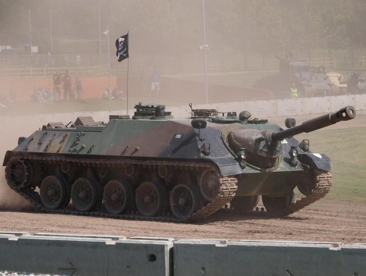 Jagdpanzer Kanone at Tankfest Bovington