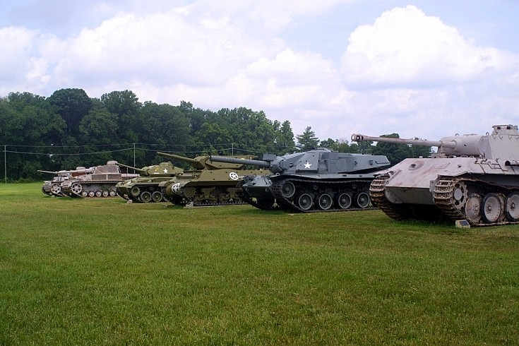 Line-up at Aberdeen Proving Ground