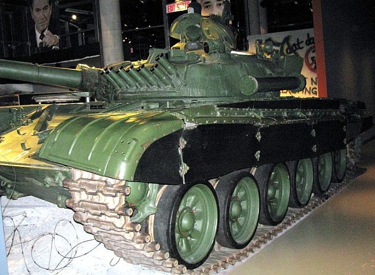 Picture of T-72 Russian tank