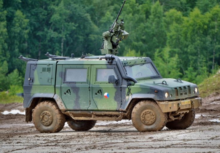 Iveco LMV with Kongsberg Protector
