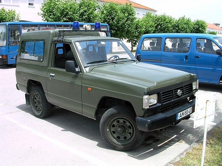 Portuguese Air Force Nissan