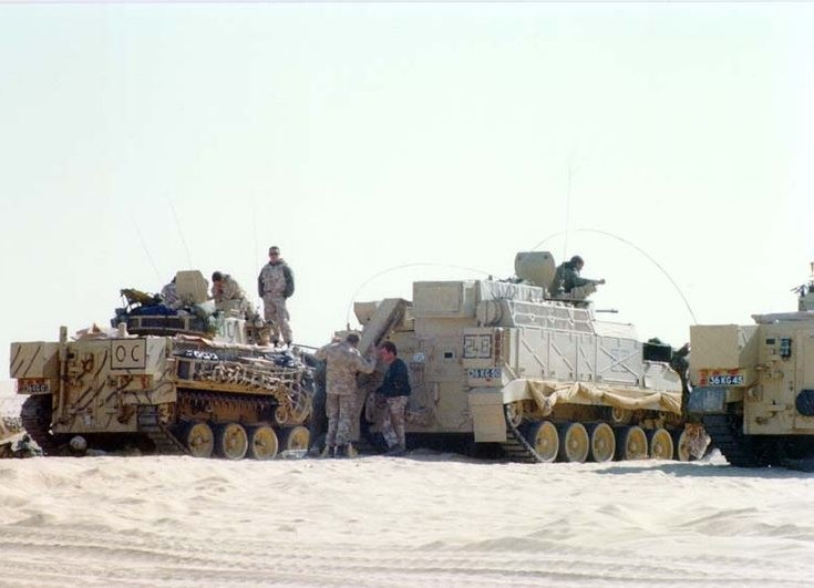 Warrior-family armored command vehicle
