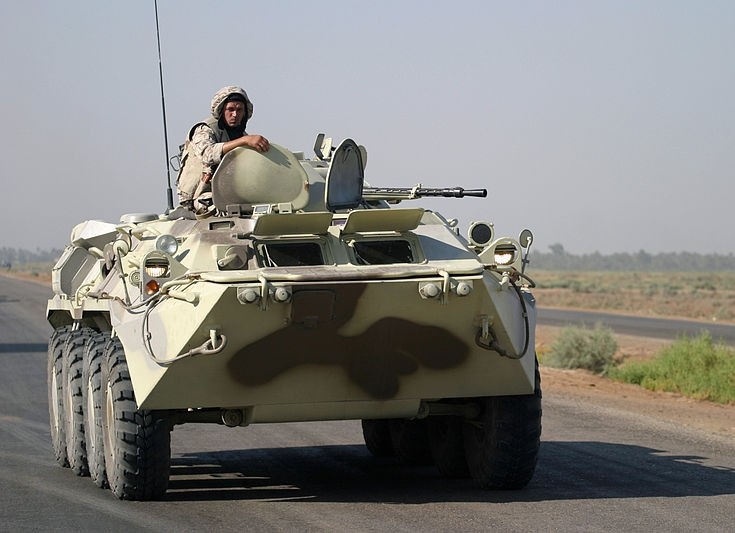 BTR-80A armored personnel carrier