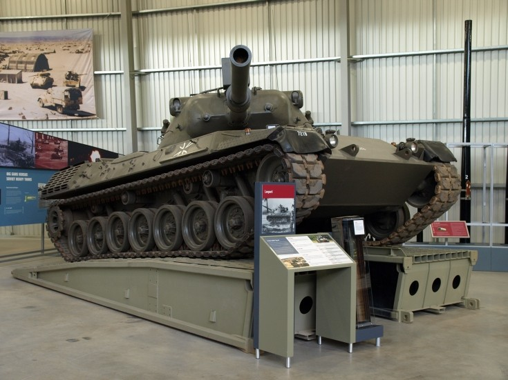 Leopard 1 at Tank Museum