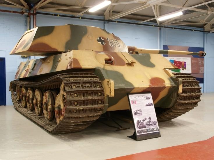 King Tiger 300 tank