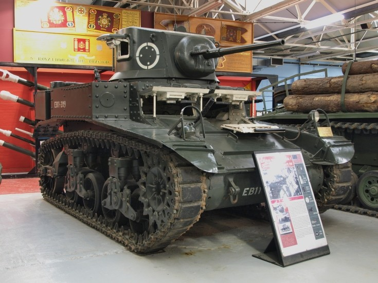 Light Tank M3A1 General Stuart IV
