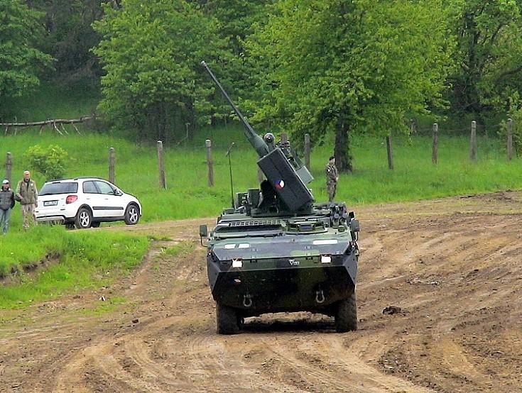 Pandur II 8x8 military vehicle