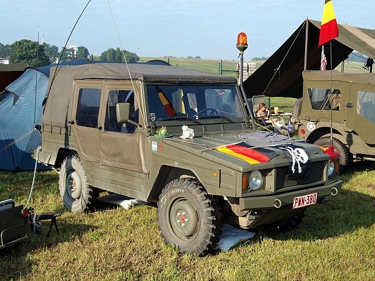 Belgian VW Iltis Jeep oldtimer