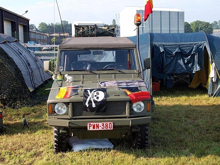 Belgian Volkswagen Iltis Jeep
