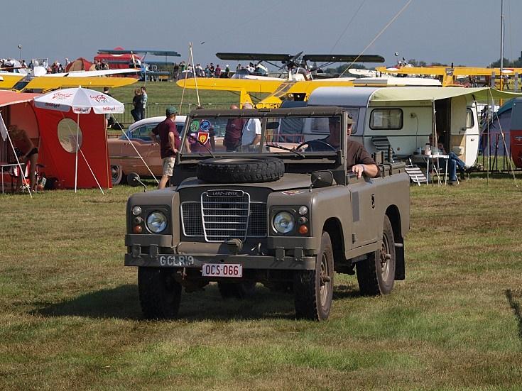 Belgian Land Rover