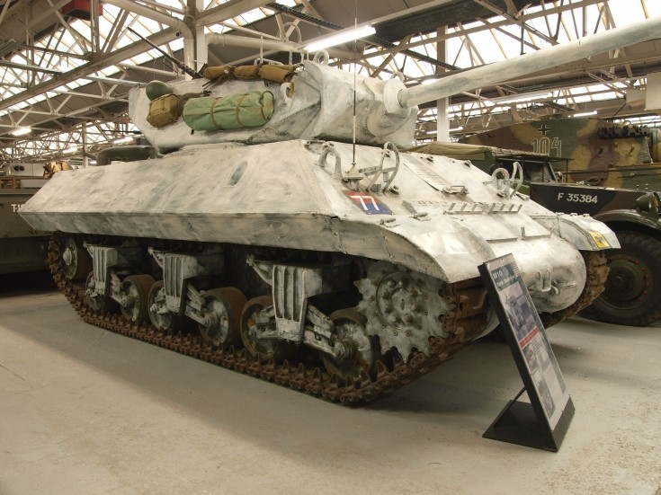 M10 Tank Destroyer at Tank Museum