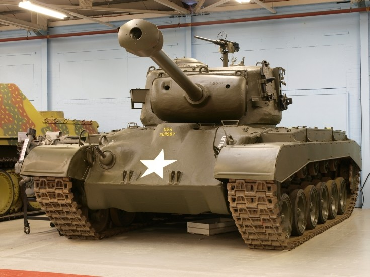 Photo of M26 General Pershing II
