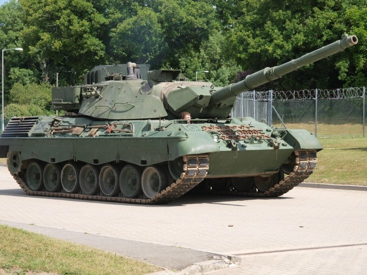 Leopard C2 at Tankfest