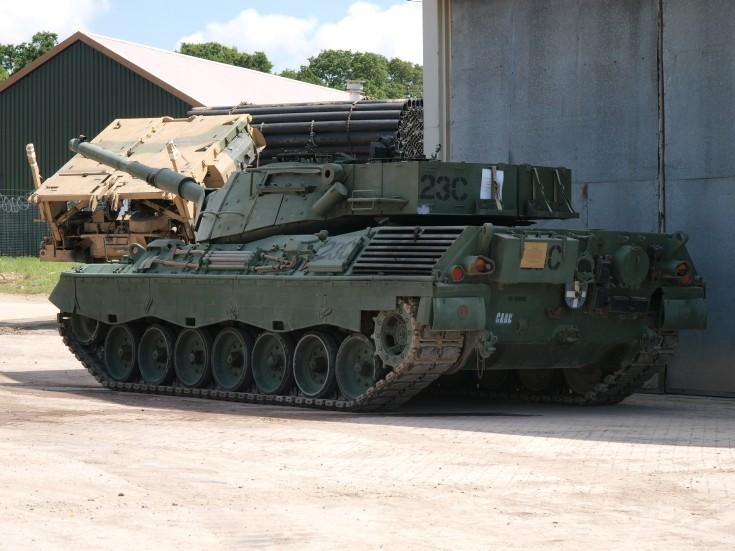 Leopard C2 at Bovington