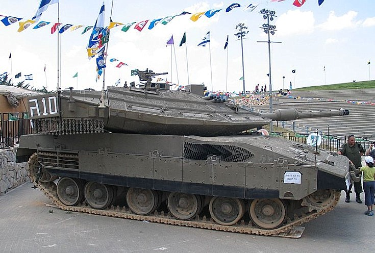 Merkava 4 MBT at Latrun, Israel