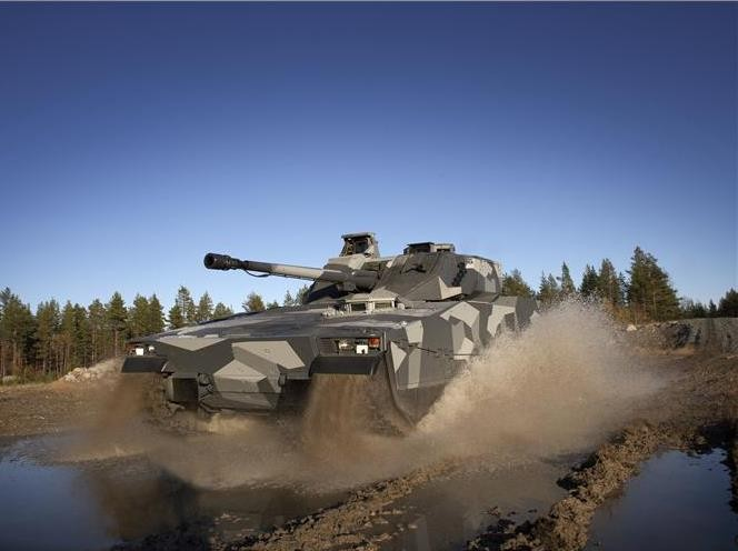 Infantry fighting vehicle Cv90