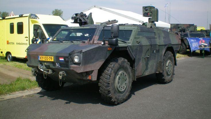 Fennek Dutch army
