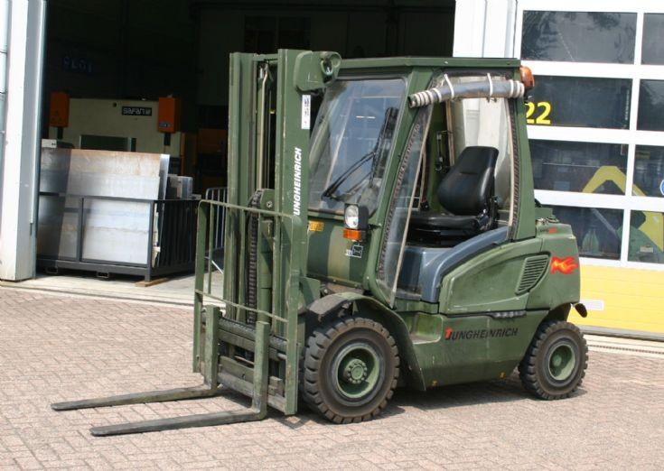 Jungheinrich Forklift Dutch army