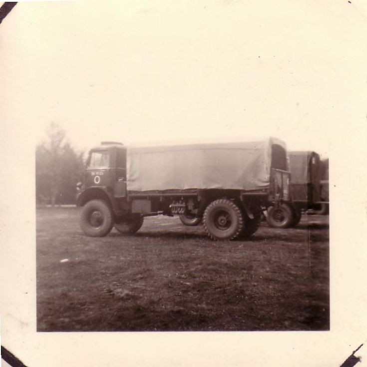 Old photo of an AEC