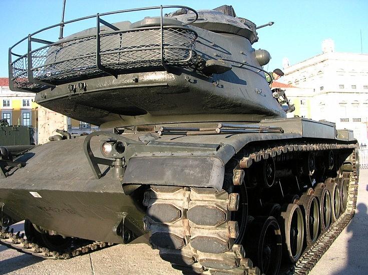 M60A3 TTS in Portugal