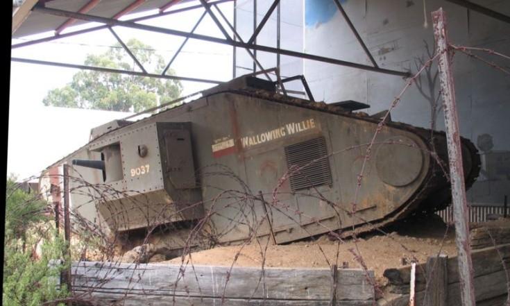 Tank Mark V (male)