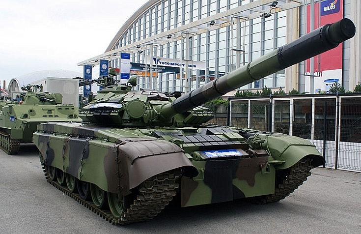 Serbian T-72