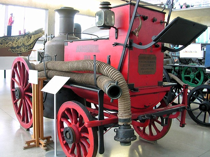 Very old Arsenal Navy Fire engine