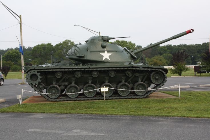 M48A1 at Oak Orchard