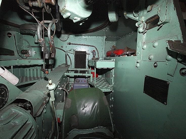 Stuart M3A1 interior