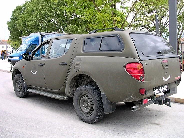 Mitsubishi L200 in Portugal