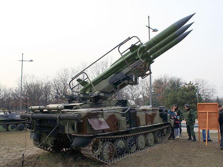 2K12 Kub SAM