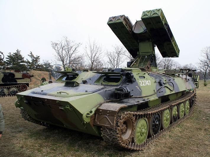 9K35 Strela-10 SAM