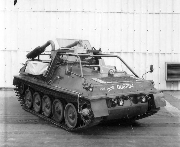 WASP - MVEE Test Vehicle