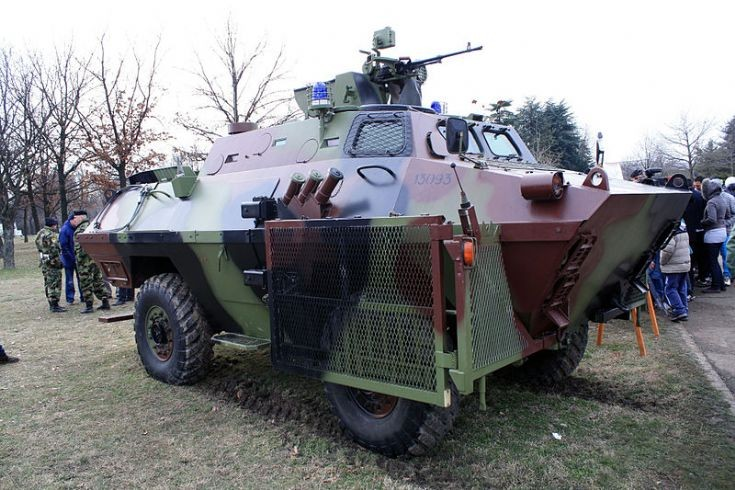 BOV-VP armoured personnel carrier