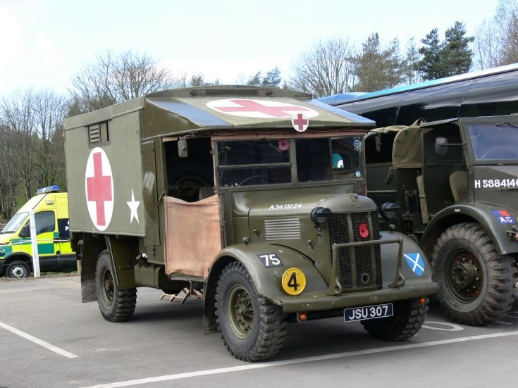 WW2 Austin Ambulance