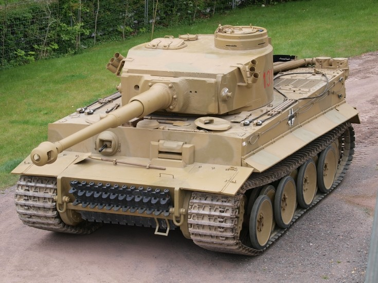 German Tiger 131 tank