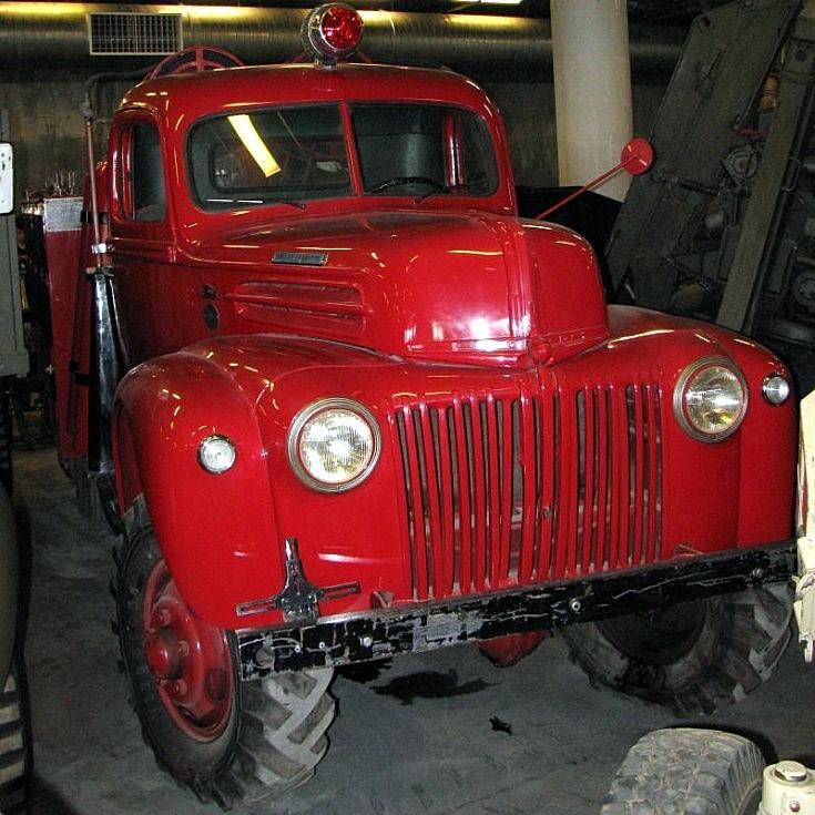 Crash Tender Truck