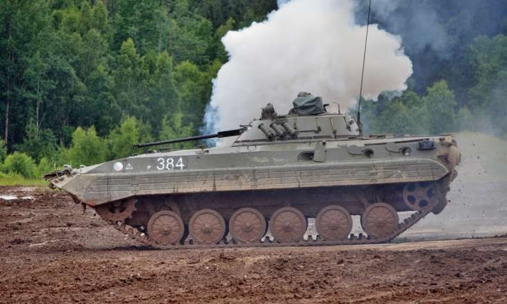 Czech Army´s BMP-2 Infantry Fighting Vehicle