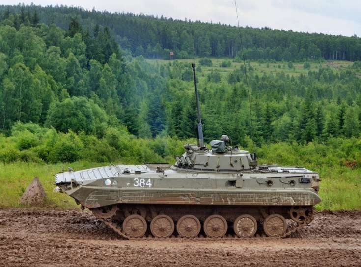 Czech Army´s tracked BMP-2 IFV