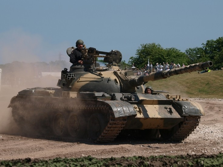 T-59 in action